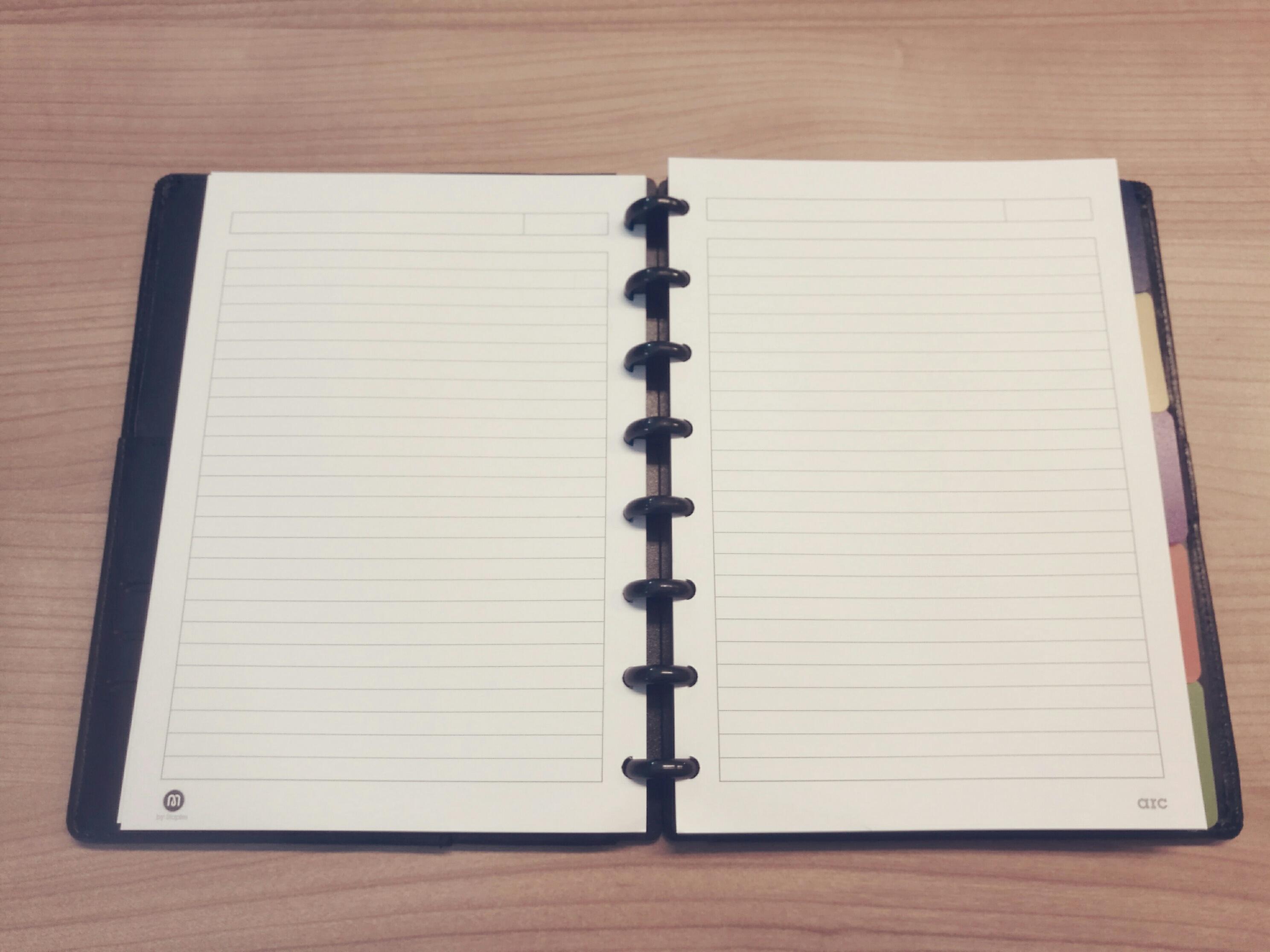 ARC: Het ultieme notitieboek